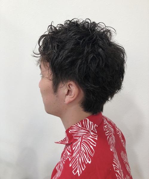 イメチェン☆メンズパーマ